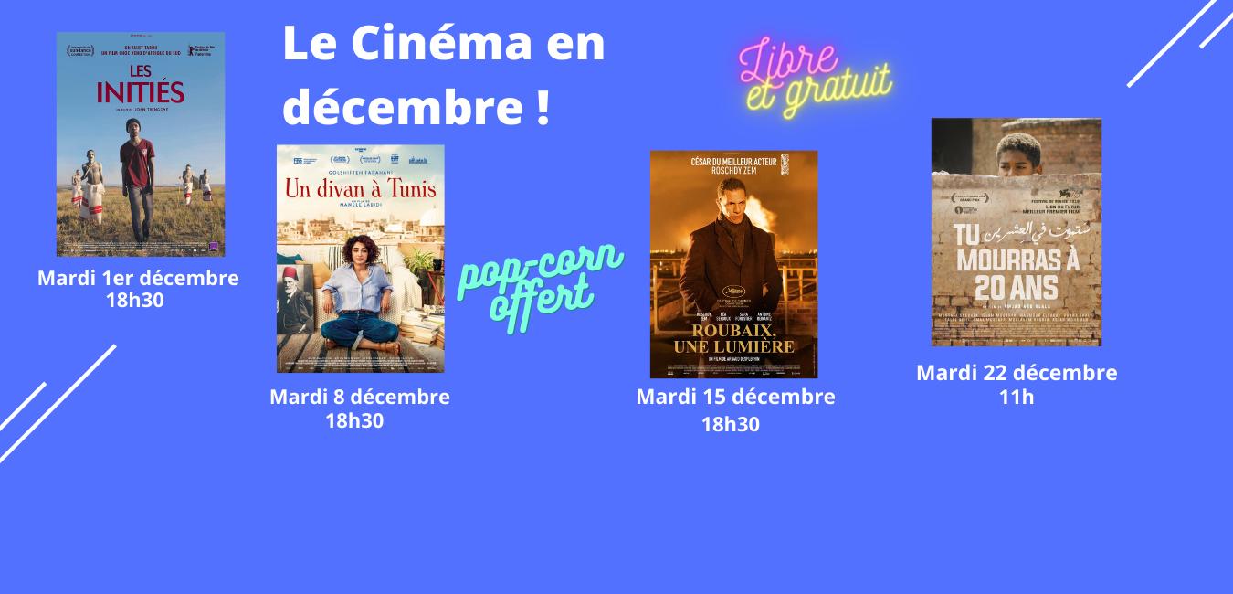 Le Cinéma en Décembre